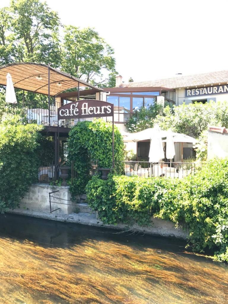 Café Fleurs : balade gastronomique à l'Isle-sur-la-Sorgue !