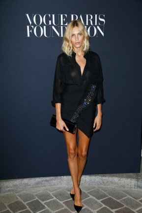 PARIS, FRANCE - JULY 04: Anja Rubik attends the Vogue Foundation Dinner during Paris Fashion Week as part of Haute Couture Fall/Winter 2017-2018 at Musee Galliera on July 4, 2017 in Paris, France. (Photo by Julien Hekimian/Getty Images for Vogue) *** Local Caption *** Anja Rubik