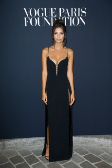 PARIS, FRANCE - JULY 04: Emily Ratajkowski attends the Vogue Foundation Dinner during Paris Fashion Week as part of Haute Couture Fall/Winter 2017-2018 at Musee Galliera on July 4, 2017 in Paris, France. (Photo by Julien Hekimian/Getty Images for Vogue) *** Local Caption *** Emily Ratajkowski