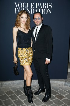 <>attends Vogue Foundation Dinner during Paris Fashion Week as part of Haute Couture Fall/Winter 2017-2018 at Musee Galliera on July 4, 2017 in Paris, France.