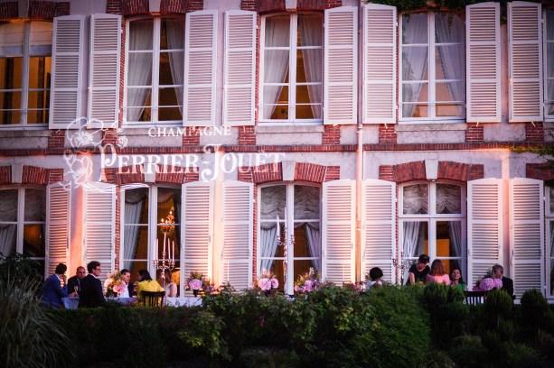 Soirée Perrier-Jouet a Epernay, le 6 juillet 2017. Photo Christophe Guibbaud