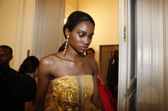 Guo Pei FW17-18 Couture- Backstage 134