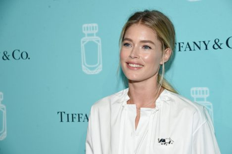 NEW YORK, NY - SEPTEMBER 06: Model Doutzen Kroes attends the Tiffany & Co. Fragrance launch event on September 6, 2017 in New York City. (Photo by Jamie McCarthy/Getty Images for Tiffany & Co.)