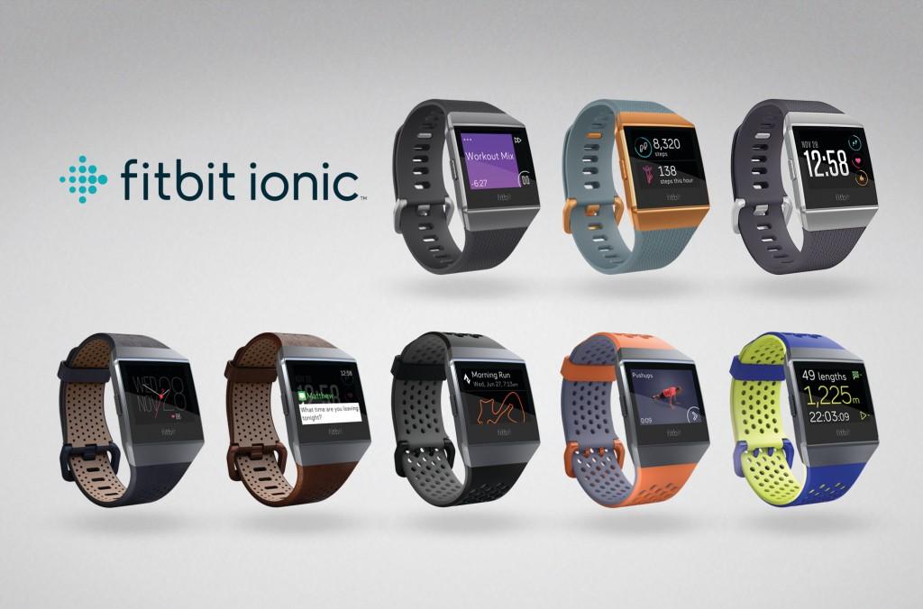 Fitbit dévoile Fitbit Ionic, la montre-coach connectée pour la forme, le sport et plus encore
