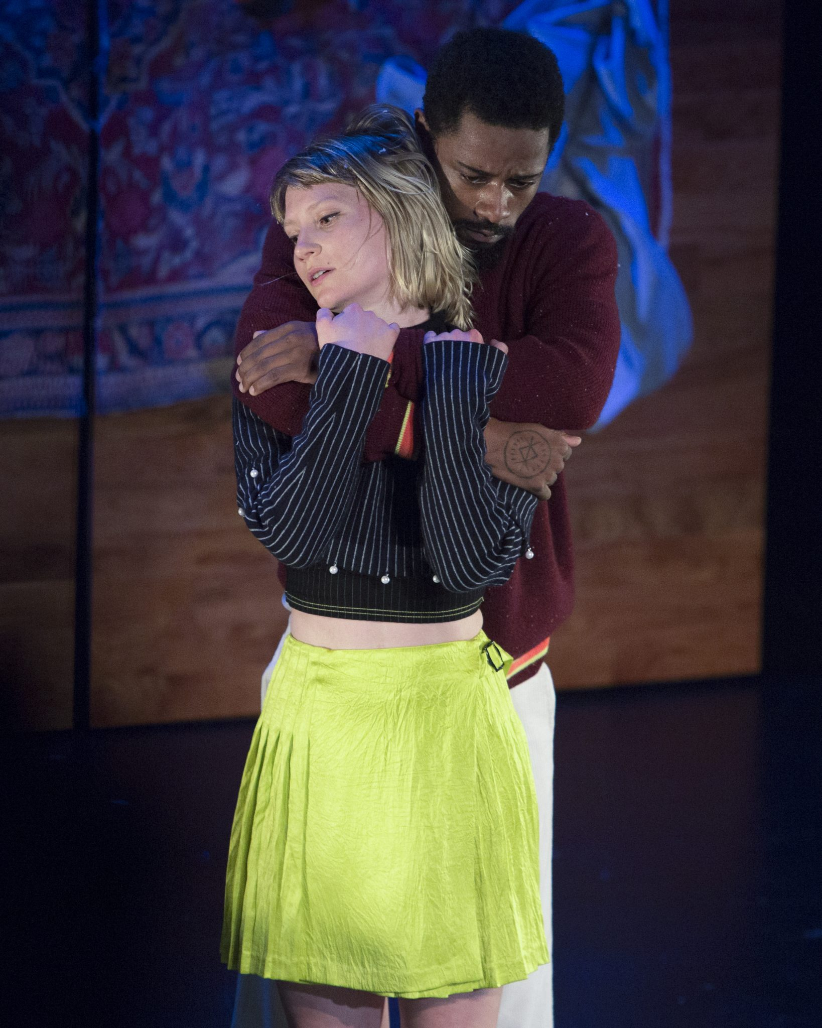 """Opening Ceremony and American Express Platinum present """"Changers"""", A Dance Story, Written and Directed by Spike Jones, Starring Mia Wasikowska and Lakeith Stanfield. La Mama, Sunday, September 10, 2017. Credit Photo: Erin Baiano"""
