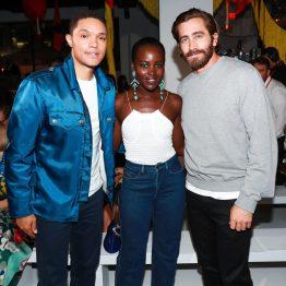 Trevor Noah, Lupita Nyong'o, Jake Gyllenhaal