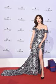 MILAN, ITALY - SEPTEMBER 20: Maggie Jiang attends Swarovski Crystal Wonderland Party on September 20, 2017 in Milan, Italy. (Photo by Jacopo Raule/Getty Images for Swarovski) *** Local Caption *** Maggie Jiang