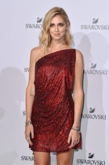 MILAN, ITALY - SEPTEMBER 20: Chiara Ferragni attends Swarovski Crystal Wonderland Party on September 20, 2017 in Milan, Italy. (Photo by Jacopo Raule/Getty Images for Swarovski) *** Local Caption *** Chiara Ferragni