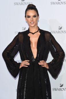 MILAN, ITALY - SEPTEMBER 20: Alessandra Ambrosio attends Swarovski Crystal Wonderland Party on September 20, 2017 in Milan, Italy. (Photo by Stefania M. D'Alessandro/Getty Images for Swarovski) *** Local Caption *** Alessandra Ambrosio