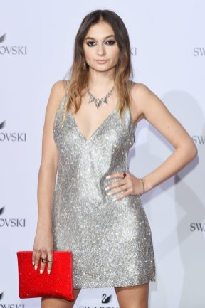 MILAN, ITALY - SEPTEMBER 20: Daya attends Swarovski Crystal Wonderland Party on September 20, 2017 in Milan, Italy. (Photo by Stefania M. D'Alessandro/Getty Images for Swarovski) *** Local Caption *** Daya