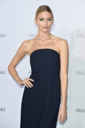 MILAN, ITALY - SEPTEMBER 20: Martha Hunt attends Swarovski Crystal Wonderland Party on September 20, 2017 in Milan, Italy. (Photo by Stefania M. D'Alessandro/Getty Images for Swarovski) *** Local Caption *** Martha Hunt