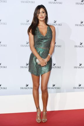 MILAN, ITALY - SEPTEMBER 20: Belen Rodriguez attends Swarovski Crystal Wonderland Party on September 20, 2017 in Milan, Italy. (Photo by Stefania M. D'Alessandro/Getty Images for Swarovski) *** Local Caption *** Belen Rodriguez