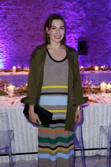 BERLIN, GERMANY - OCTOBER 11: German actress Christiane Paul attends the Moncler X Stylebop.com launch event at the Musikbrauerei on October 11, 2017 in Berlin, Germany. (Photo by Sebastian Reuter/Getty Images for Moncler X Stylebop.com) *** Local Caption *** Christiane Paul
