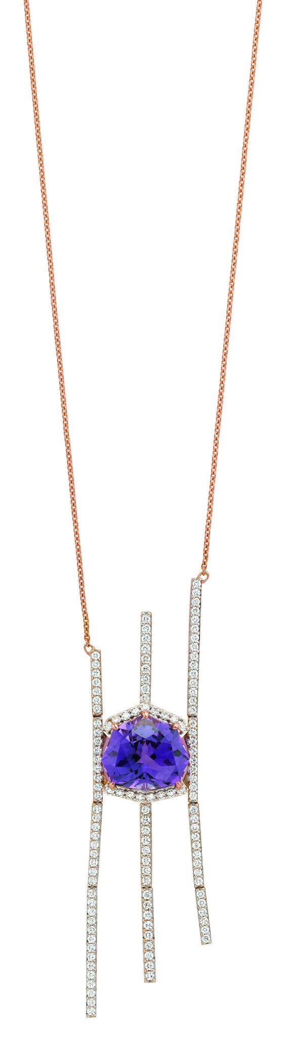 Gringoire Joaillier - ROSE - Amethyste et diamants - WP1682AM-BTS