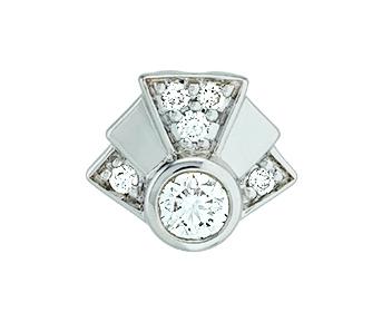 Gringoire Joaillier - mini pendentif King - LT3110BTS