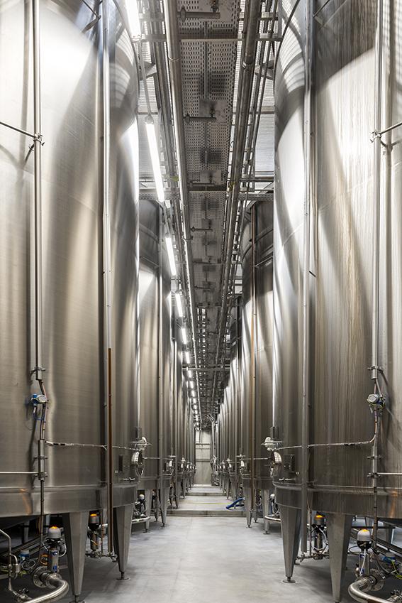 Usine d'embouteillage Hennessy à Cognac