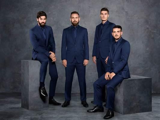 HUGO BOSS habilleur officiel de l'AS ROMA