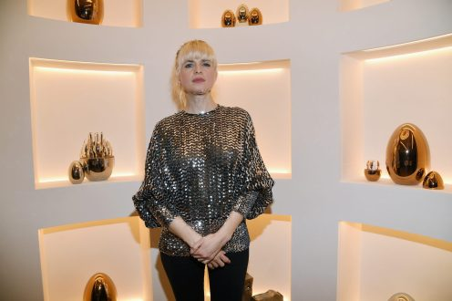 PARIS, FRANCE - NOVEMBER 23: Cecile Cassel attends Christofle Saint-Honore Boutique Opening on November 23, 2017 in Paris, France. (Photo by Pascal Le Segretain/Getty Images for Christofle) *** Local Caption *** Cecile Cassel