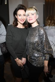PARIS, FRANCE - NOVEMBER 23: Elsa Zylberstein and Cecile Cassel attend Christofle Saint-Honore Boutique Opening on November 23, 2017 in Paris, France. (Photo by Pascal Le Segretain/Getty Images for Christofle) *** Local Caption *** Elsa Zylberstein;Cecile Cassel