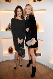 PARIS, FRANCE - NOVEMBER 23: Elsa Zylberstein and Estelle Lefebure attend Christofle Saint-Honore Boutique Opening on November 23, 2017 in Paris, France. (Photo by Pascal Le Segretain/Getty Images for Christofle) *** Local Caption *** Elsa Zylberstein;Estelle Lefebure