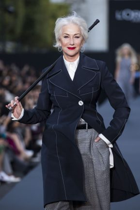 Helen Mirren wearing Chopard High Jewellery