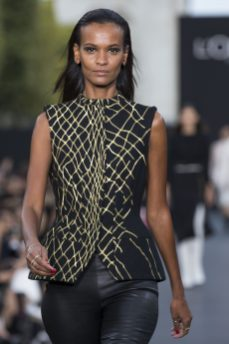 Liya Kebede wearing Ice Cube Collection (1)