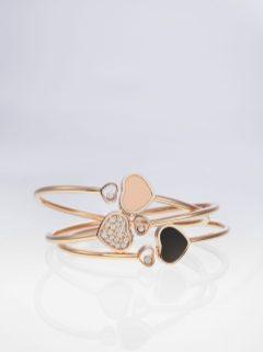 Happy Hearts bangle bracelets 1