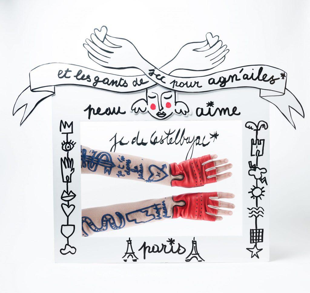 JEAN-CHARLES DE CASTELBAJAC – AGNELLE – «PEAU AIME» COLLECTION – POP UP STORE AUX GALERIES LAFAYETTE