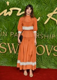 LONDON, ENGLAND - DECEMBER 04: Jeanne Damas attends The Fashion Awards 2017 in partnership with Swarovski at Royal Albert Hall on December 4, 2017 in London, England. (Photo by Jeff Spicer/BFC/Getty Images)
