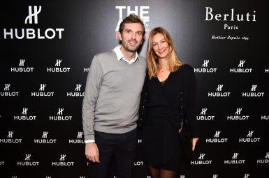 Julien et Karen Benneteau HUBLOT