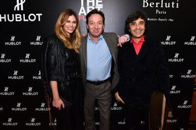 Lauréna Vergani, Emmanuel Perrotin et Ariel Wizman