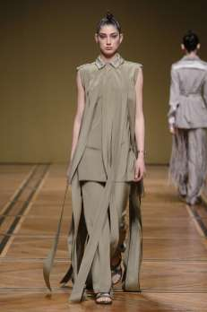 Antonio Grimaldi : couture en permission ?
