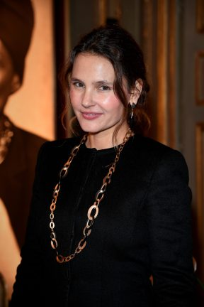 PARIS, FRANCE - JANUARY 24: Virginie Ledoyen attends the Cocktail & Dinner for the new Pomellato campaign launch with Chiara Ferragni as part of Paris Fashion Week during Haute-Couture Spring/Summer 2018 at Ambassade d'Italie on January 24, 2018 in Paris, France. (Photo by Venturelli/Getty Images for Pomellato)