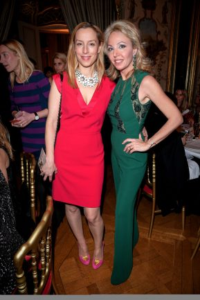 PARIS, FRANCE - JANUARY 24: Adelaide de Clermont-Tonnerre and Princess Camilla, Duchess of Castro attend the Cocktail & Dinner for the new Pomellato campaign launch with Chiara Ferragni as part of Paris Fashion Week during Haute-Couture Spring/Summer 2018 at Ambassade d'Italie on January 24, 2018 in Paris, France. (Photo by Venturelli/Getty Images for Pomellato)