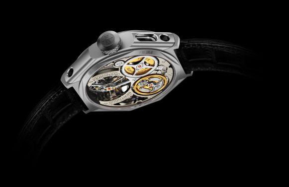 Chronomätre Ferdinand Berthoud FB 1R.6-1 - Caseback 2 - Black Background