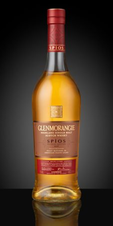 Glenmorangie Private Edition 9 Spios_Bottle on Black background