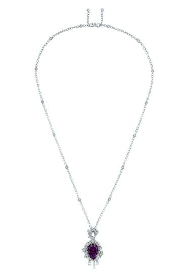 JSCR93005 - VANITE RUBELLITE NECKLACE (1)