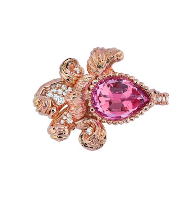 JSCR93013 - INTIMITE SPINELLE ROSE RING (1)
