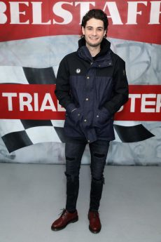 LONDON, ENGLAND - JANUARY 08: Jack Brett Anderson attends the Belstaff AW18 Mens & Womens Presentation during London Fashion Week Men's January 2018 on January 8, 2018 in London, England. (Photo by Darren Gerrish/WireImage) *** Local Caption *** Jack Brett Anderson