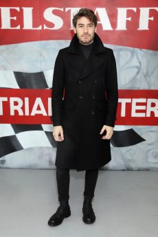 LONDON, ENGLAND - JANUARY 08: Robert Konjic attends the Belstaff AW18 Mens & Womens Presentation during London Fashion Week Men's January 2018 on January 8, 2018 in London, England. (Photo by Darren Gerrish/WireImage) *** Local Caption *** Robert Konjic