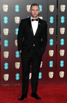 Mandatory Credit: Photo by Matt Baron/REX/Shutterstock (9421034cx) Jamie Bell 71st British Academy Film Awards, Arrivals, Royal Albert Hall, London, UK - 18 Feb 2018