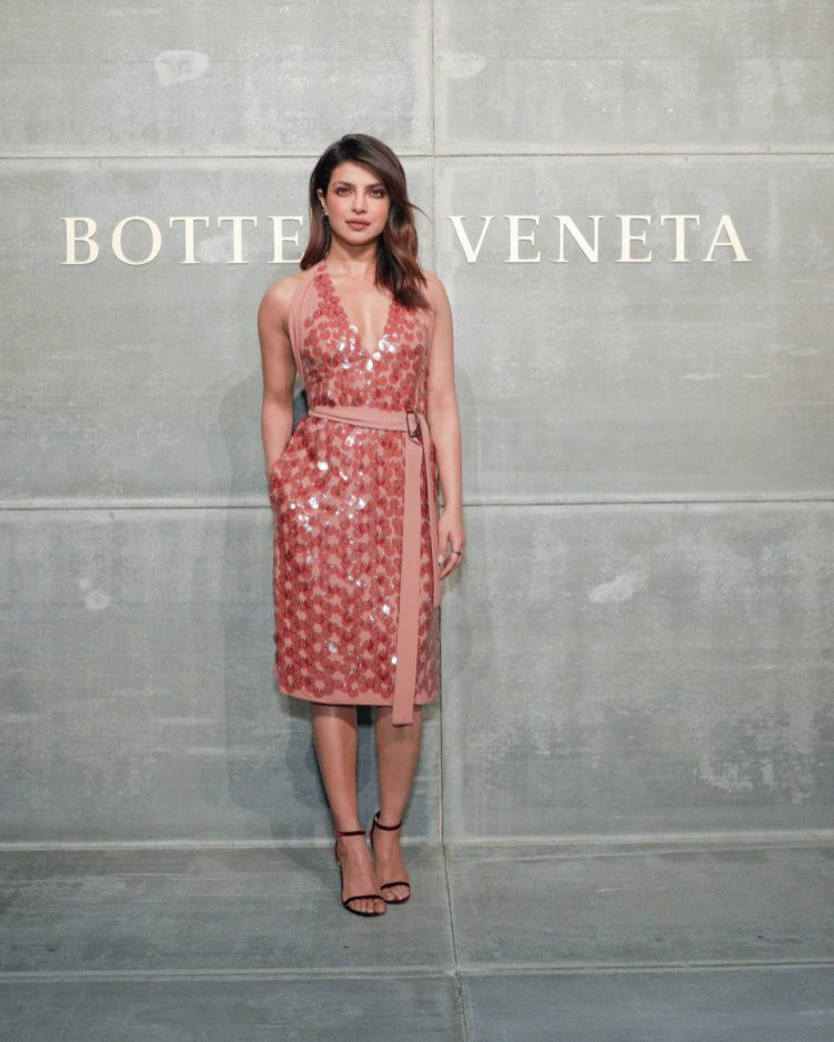 Priyanka Chopra, At the Bottega Veneta Fall Winter 2018 show at the American Stock Exchange in New York City