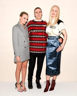 Margot Robbie, Raf Simons, Nicole Kidman