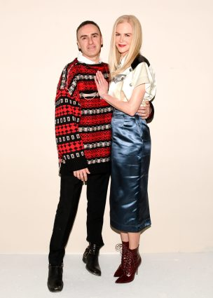 Raf Simons, Nicole Kidman