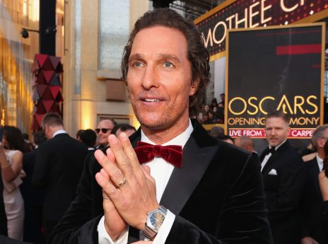 HOLLYWOOD, CA - MARCH 04: Matthew McConaughey attends the 90th Annual Academy Awards at Hollywood & Highland Center on March 4, 2018 in Hollywood, California. (Photo by Christopher Polk/Getty Images)
