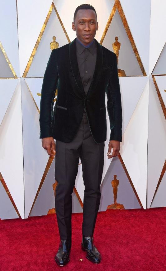 Mahershala Ali Wears Berluti To Oscars 2