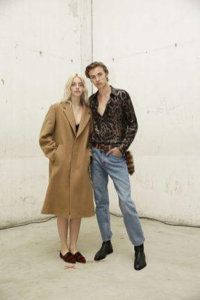 Pyper America Smith & Lucky Blue Smith in Roberto Cavalli @ Roberto Cavalli Fashion Show FW1819 - 23-02-18