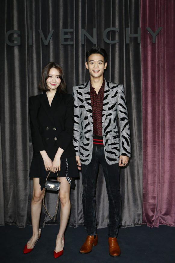 Yoona Lim and Minho Choi