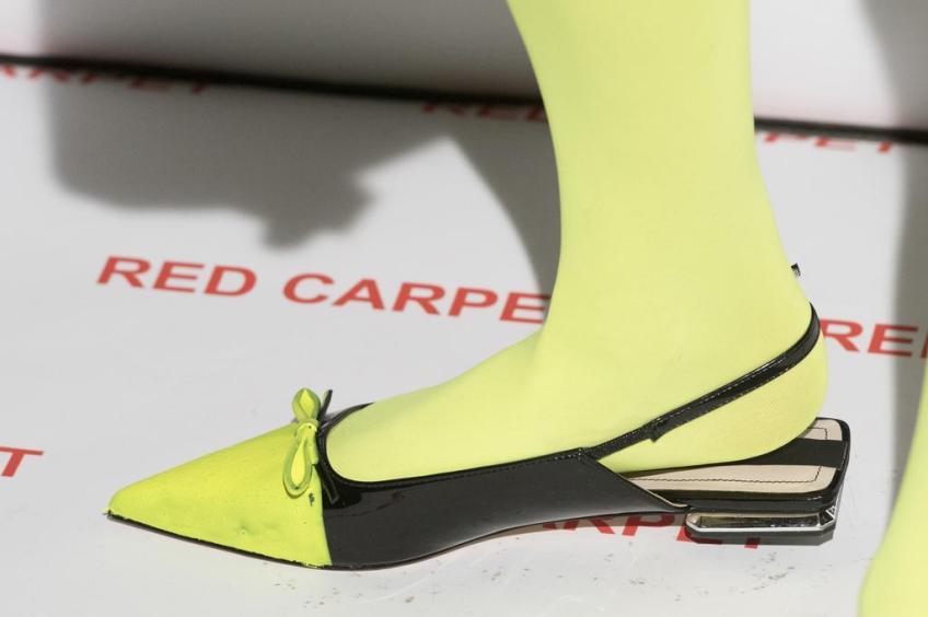 Chaussures vernies revissées chez Wendy Jim