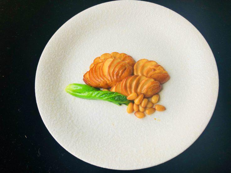 松籽口蘑 Braised Mushrooms with Pine Nuts